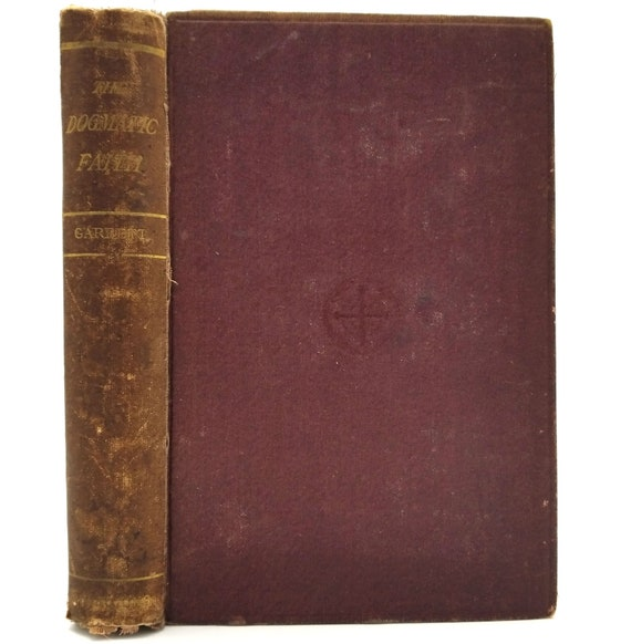 An Inquiry Into the Relation Subsisting Between Revelation & Dogma  by Edward Garbett 1868 Hardcover HC - Rivingtons - Religion Bible