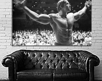 04 Poster Mural Arnold Schwarzenegger Large Print