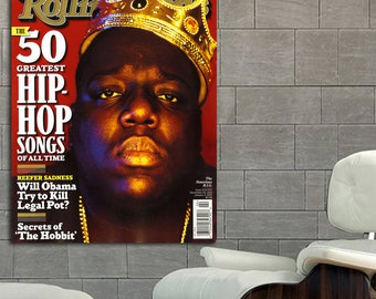 27 Poster Mural Notorious Big Biggie Smalls Rap Hip Hop Print Etsy