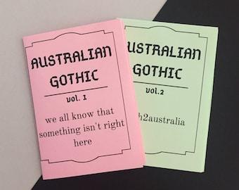 Australian Gothic | 8-page zine