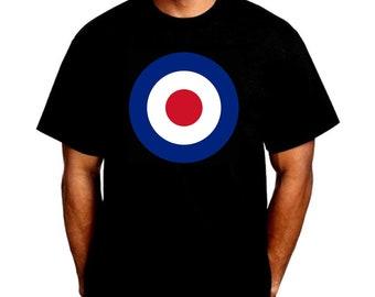 503872f4c62 Mod - Classic Roundel - Bullseye Archery Target T-Shirt