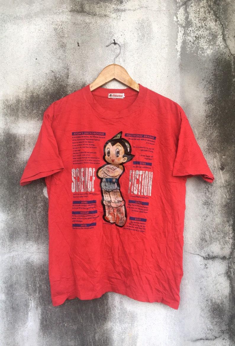 508ea10b0 Vintage Holographic Astro Boy T-Shirt by Tezuka Production /   Etsy