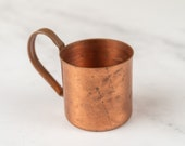 Vintage Weathered Moscow Mule Cup-Food Photography Props Food Styling Prop Styling