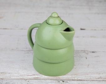Green Ceramic Pottery Coffeepot Tea Pot-Food Photography Props