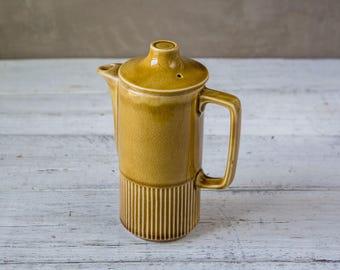 Yellow Ceramic Pottery Coffeepot Tea Pot-Food Photography Props