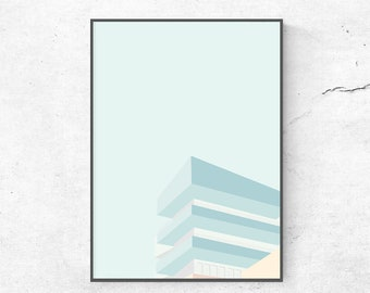 Poster poster graphic design illustration ArchiEtage architecture