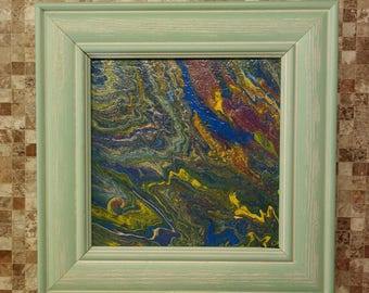 Alsafi is a cosmic abstraction in a ready mint frame