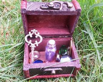 Fairy Princess Treasure Box with Secret Key, Treasure and Fairy Dust