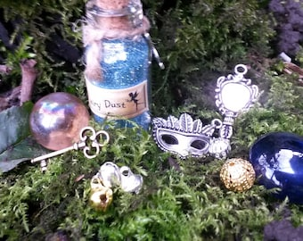 Fairy Garden Treasure with Fairy Dust, See What The Fairy Princess Left Behind