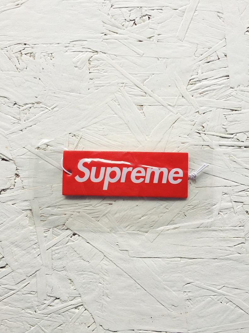 1cedf19bbaa89 Supreme Car Air Freshener Supreme Box Logo Supreme