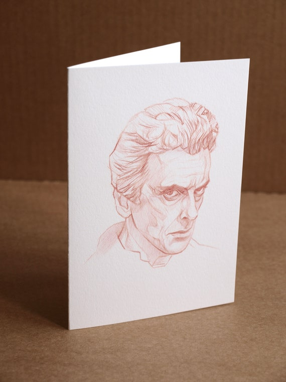 Doctor who greeting card dr who blank cards doctor who etsy image 0 m4hsunfo