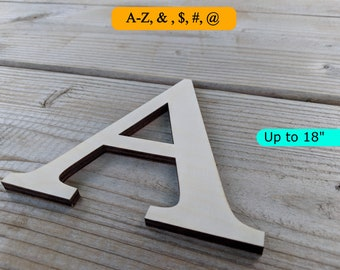 wood letters up to 18 tall large and small wooden letters blank letters laser cut alphabet letters diy blank letters