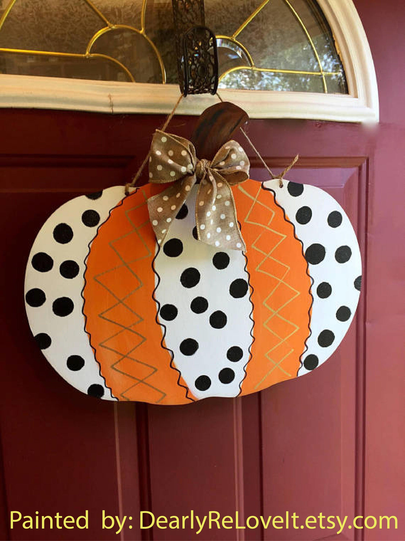 pumpkin cutout wooden pumpkin diy decor halloween decor pumpkin