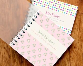 Personalised Teacher's Notebook