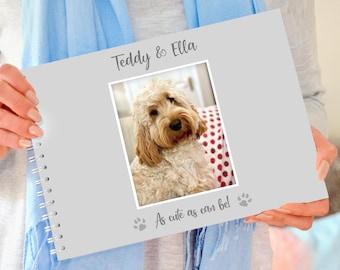 Personalised Dog Memory Book, Dog Photo Book, Dog gift, Pet Gift, Dog photo album, Dog scrapbook, Personalised Dog gift, Dog album
