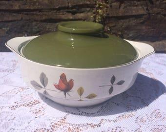 Vintage / Retro Casserole Dish, Hostess by British Anchor