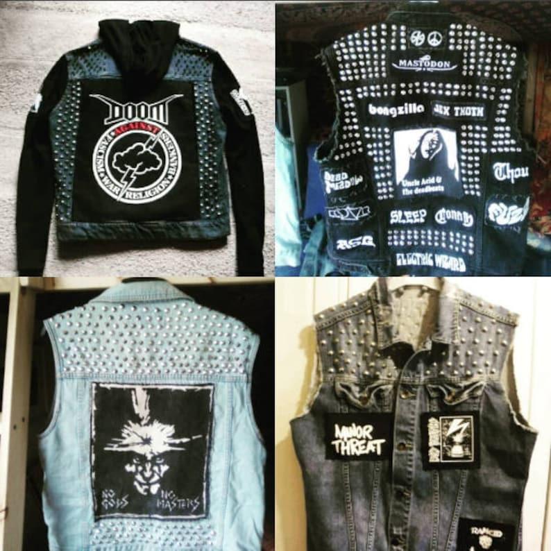 Custom Order Punk Metal Battle Jackets image 0