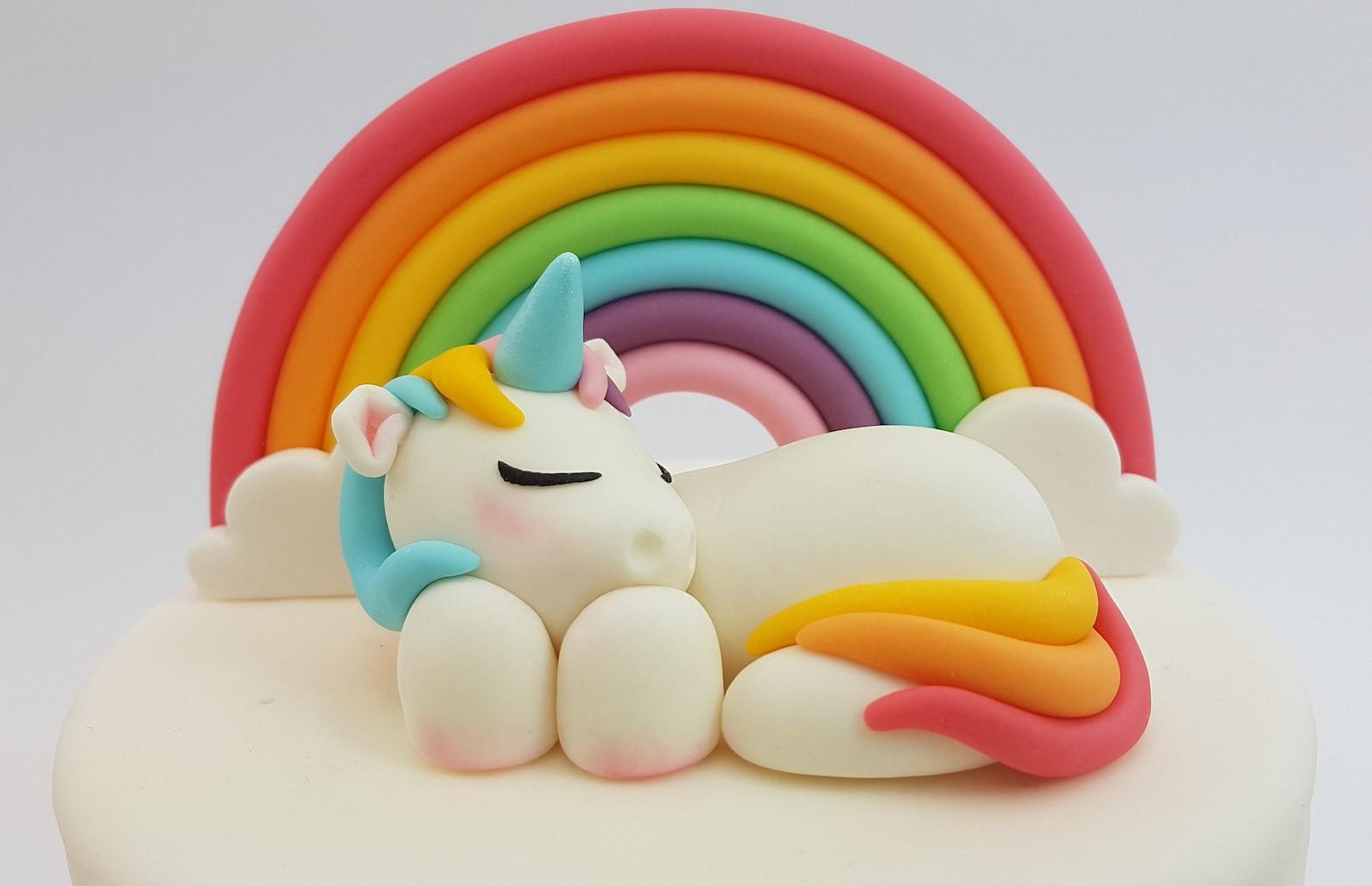 Fondant Unicorn Cake Toppers Page Six