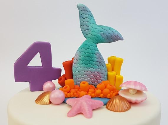 15 Große eßbare Zucker Kuchen Dekorationen Muscheln weißen Kuchen dekorationen
