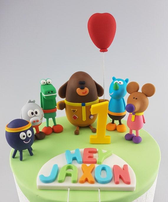 He Partei Duggee Cake Topper essbare 3D Namen Alter | Etsy