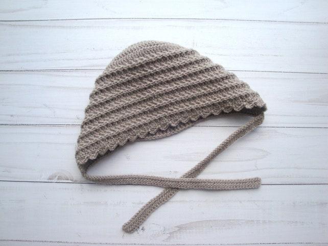 Crochet Bonnet Pattern Crochet Bonnet Pattern Bonnnet Etsy