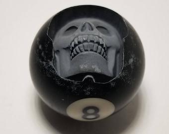 Pool Ball Skull, Billiards, Pool Balls, 8 ball, skull