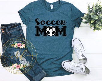 2e0cca4047b7 Soccer Mom Shirt - Soccer Mom - Soccer Mama - Soccer Shirt - Mothers Day  Gift