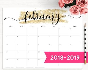 2019 Desk Planner Etsy