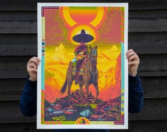 Roadburn Main poster   Screenprint by Douwe Dijkstra