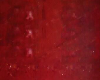 Ravishing -a pink acrylic painting on canvas