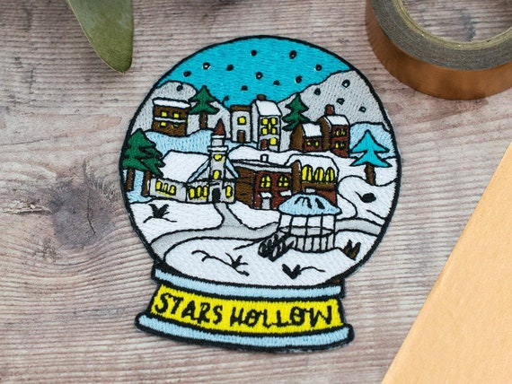 Stars Hollow Snow Globe Patch Gilmore Girls Gift Etsy