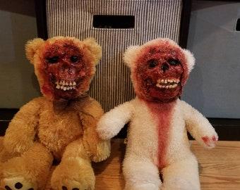 DarkSeed's Bubby bears Custom bloody horror teddy bears