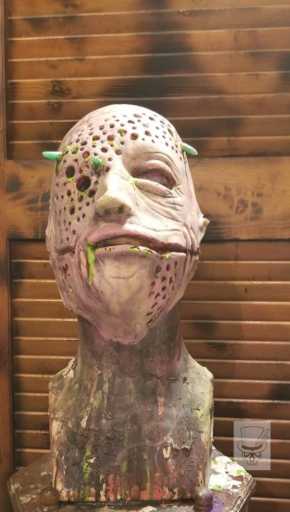 Scary Trypophobia Halloween Masks Scary Halloween Costume Mask Etsy