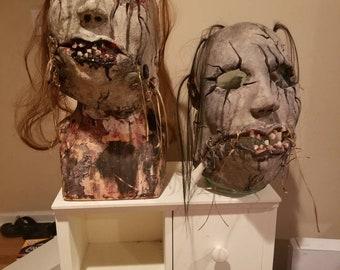 Bubby custom Halloween horror masks