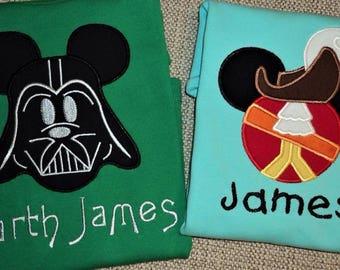 Mickey Darth Vader, Pirate or Avenger