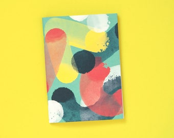 """Notebook """"Strokes mint"""" - A6, 48 pages, blank"""