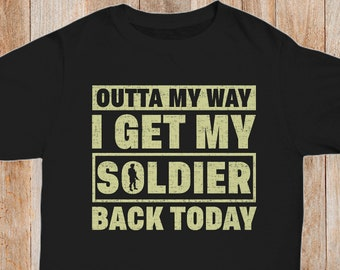 f5c0c01d Returning Soldier TShirt Military Shirt Army Dad Shirt Returning Sailor Tee  Army Wife TShirt Military Family Tee Army Brat