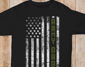 0bf9be5ca Army Family American Flag Shirts Army Dad Army Mom Brother Sister Kid Son T-Shirts  Military Armed Forces Family Shirts