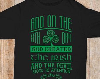 58a578f8 Funny St. Patrick's Day TShirt Funny Irish Pride Tee Funny St. Paddy's  Shirt Funny Ireland Tee Funny Ireland Gift