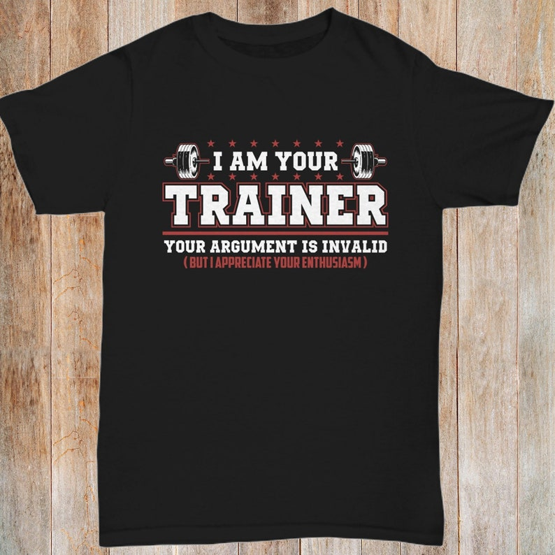 aefe997cb Funny Personal Trainer Shirt CrossFit Coach T-Shirt | Etsy