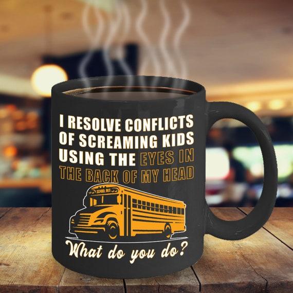 Produkty Podobne Do śmieszne Autobus Szkolny Kierowca Kubek