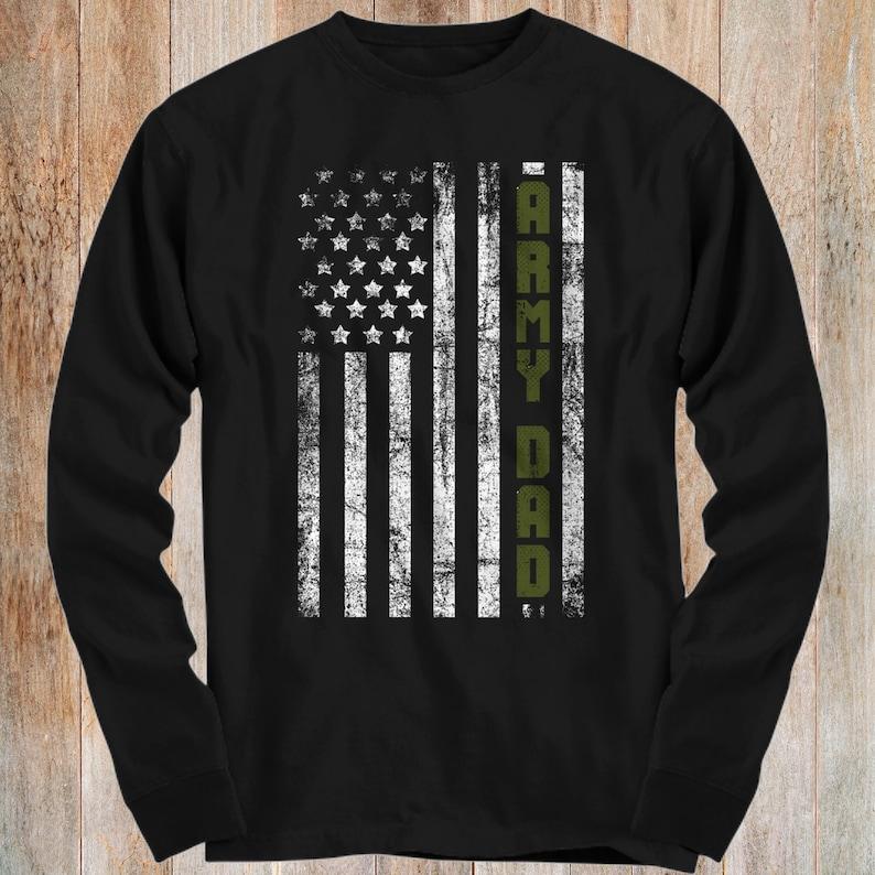 6addcf94bf5 Army Family American Flag Shirts Army Dad Army Mom Brother