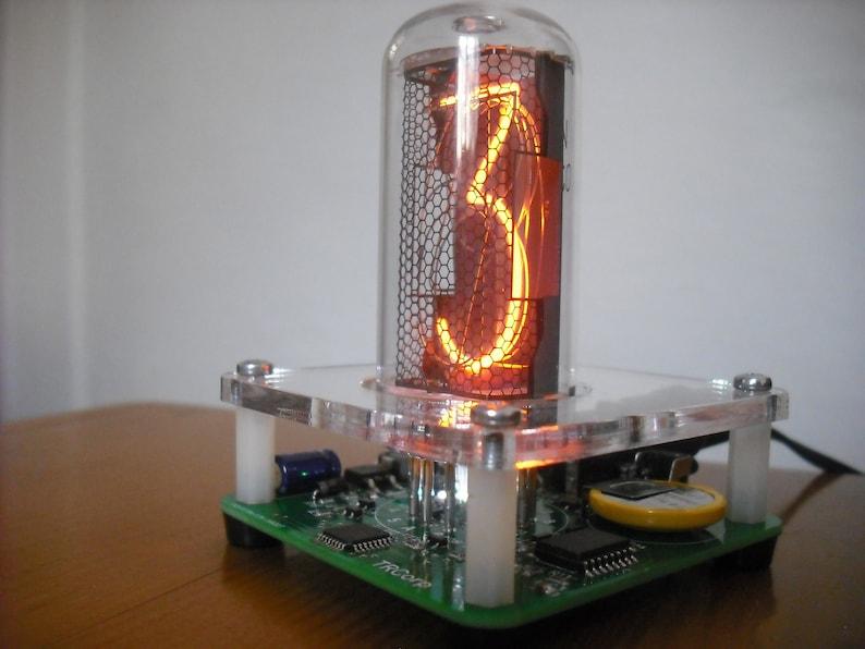 Nixie Tube Clock kit IN-18 Tube LED RGB Backlight [No Tube]