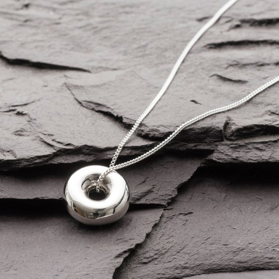 Icosahedron Platonic Solid Necklace Small and elegant but with great power and meaning for universal consciousness