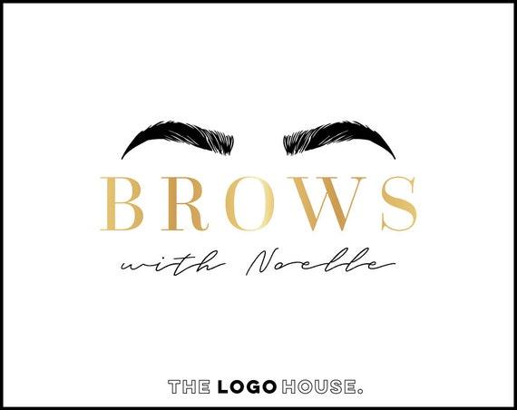 Sourcils Création De Logo Logo Brow Bar Microblading Logo Sourcil Or Logo Logo De Sourcils De Technicien Rose Or Sourcils Logo Logo De Salon De