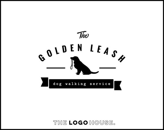 Dog Logo Design Pet Accesories Logo Dog Walking Business | Etsy