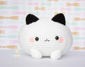 Custom Marshmallow Amigurumi, kawaii mochi crochet plush, custom request cute stuffed animal, plushie commission, wonder wishes studio