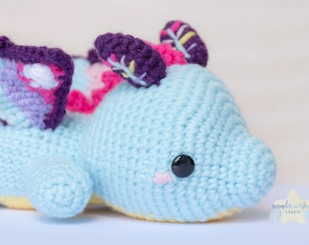 Custom Lying on Belly Amigurumi, custom order plush, crochet stuffed animal, commission amigurumi, kawaii animal plushie, custom crochet