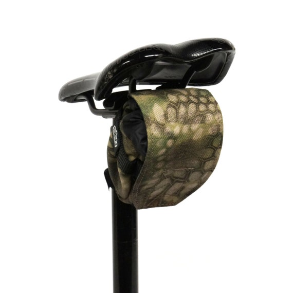 STW Black Nylon MTB Saddle Bag