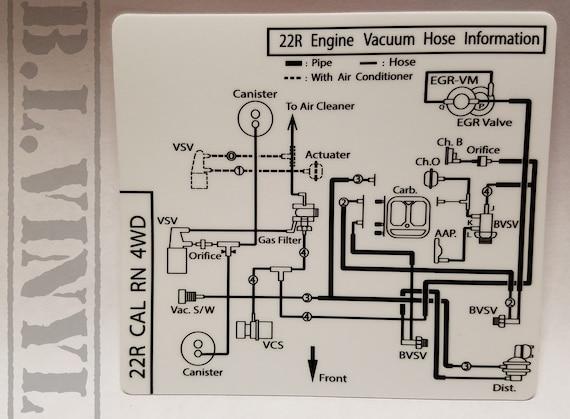 Toyotum 22r Engine Part Diagram